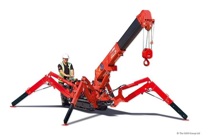 unic_urw_095_mini_spider_crane