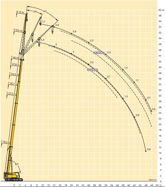 Location grue telescopique sur chenille