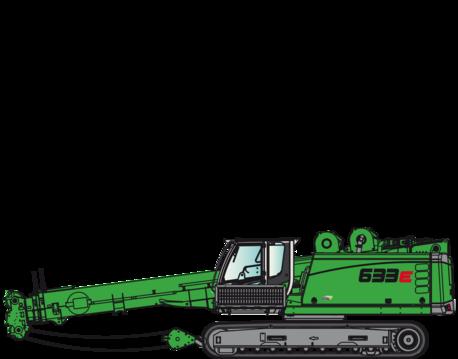 grue télescopique 633E
